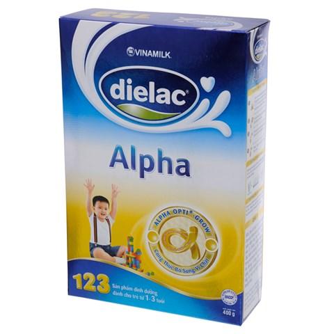 Sua Dielac Alpha 123 hop giay