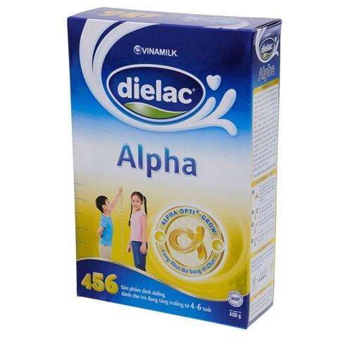 Sua Dielac Alpha 456 hop giay (400g)