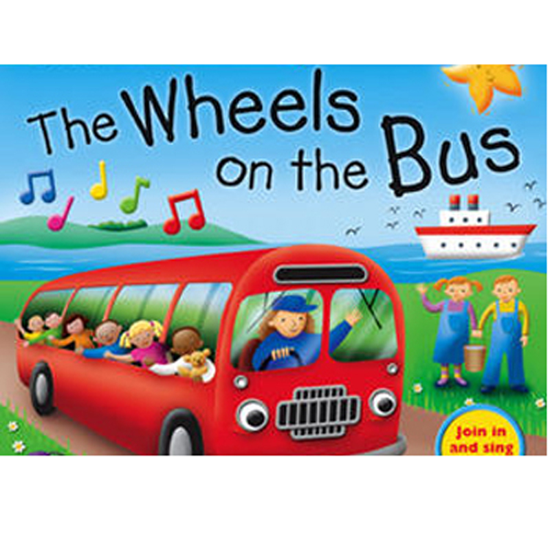 Bo dia DVD Wheels on the bus vui nhon