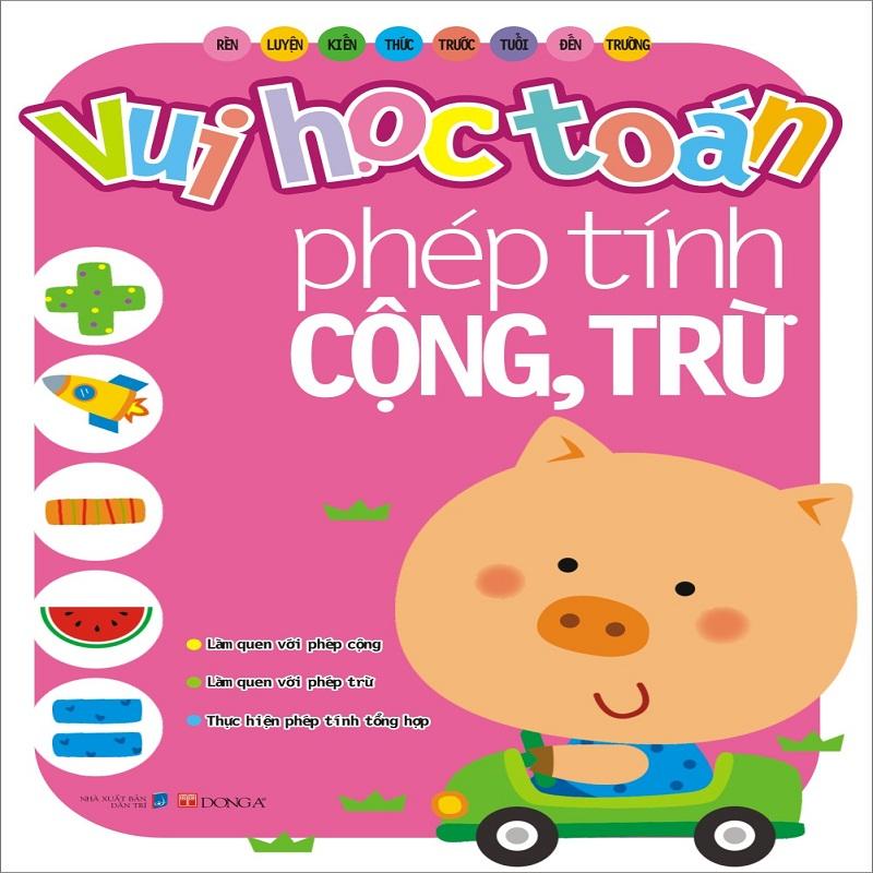 vui hoc toan - Lam quen voi phep tinh cong tru