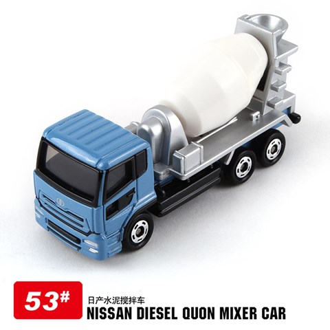 Do choi Tomy 742241 – Mo hinh 53 xe tai Nissan Diesel Quon Mixer Car