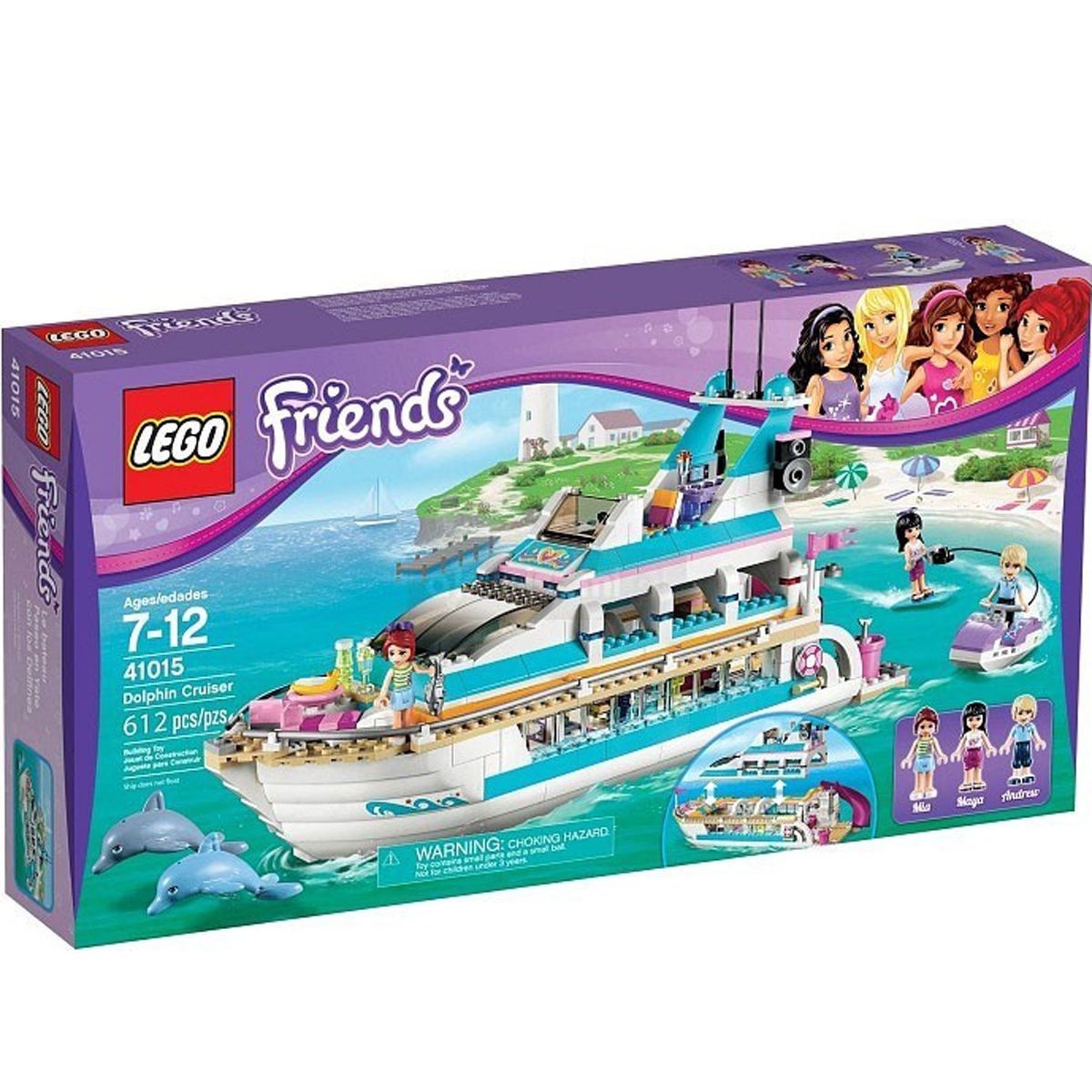 Do choi xep hinh LEGO 41015