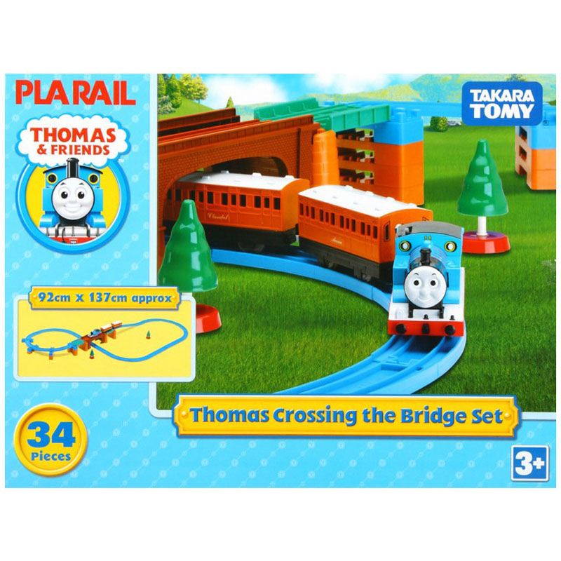Do choi mo hinh Thomas Crossing Bridge Set