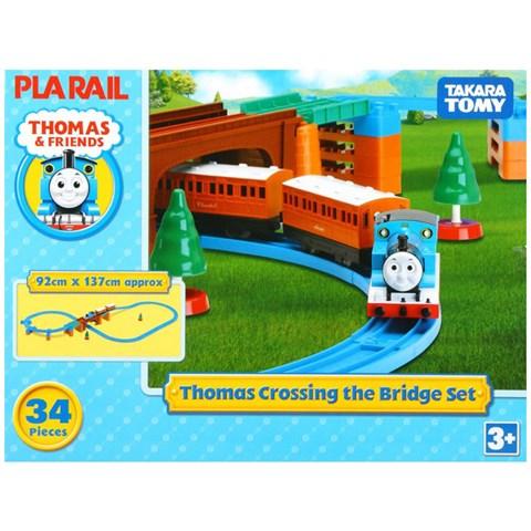 Do choi mo hinh Thomas Crossing Bridge Set