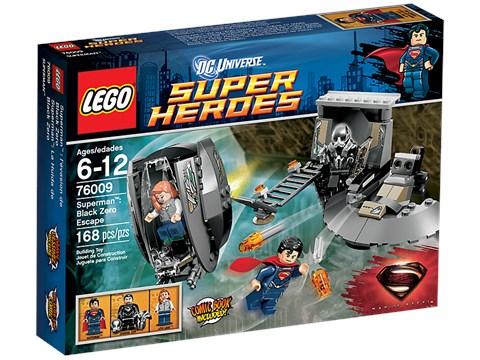 Do choi lego 76009 - Xep hinh Superman Black Zero Escape V29