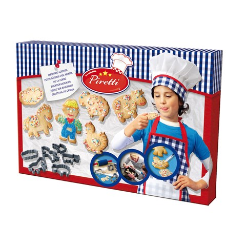 Bo do choi be tap lam banh Farmyard cookies 09446SES