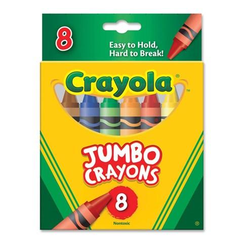 But sap 8 mau (loai lon) - Crayola 5203891010