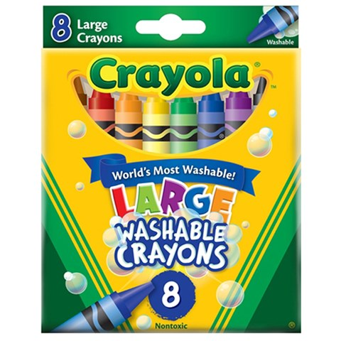 But sap 8 mau loai lon (tay rua duoc) - Crayola 5232803012