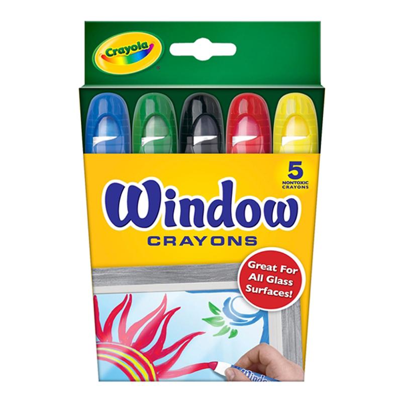 But sap 5 mau viet duoc len be mat kinh - Crayola 5297650000