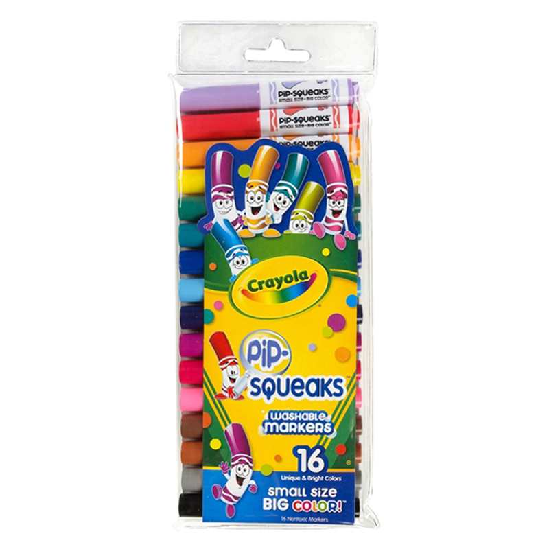 Bo but long mini 16 mau - Crayola 5887030004