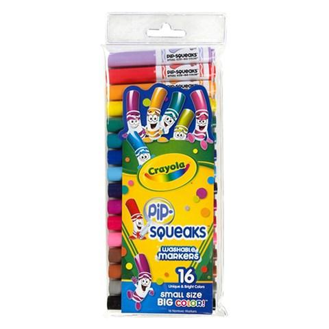 Bo but long mini 16 mau - Crayola 5887030004