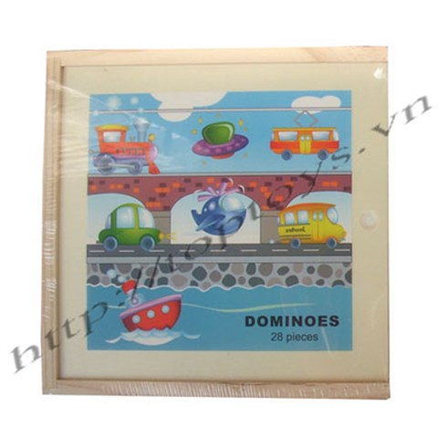 Do choi go hoat hinh - Domino giao thong 93856A
