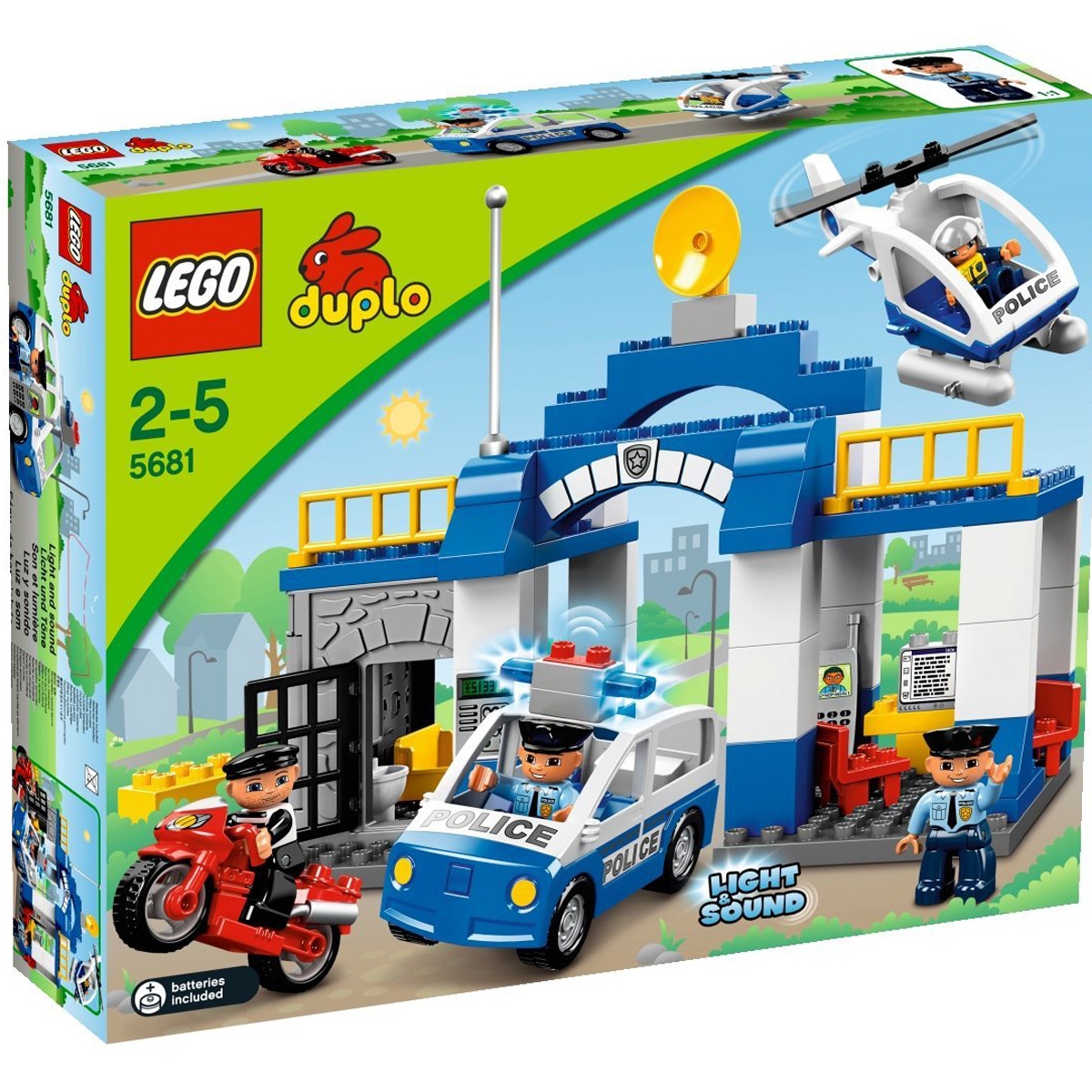 Do choi xep hinh Lego Duplo 5681- So canh sat