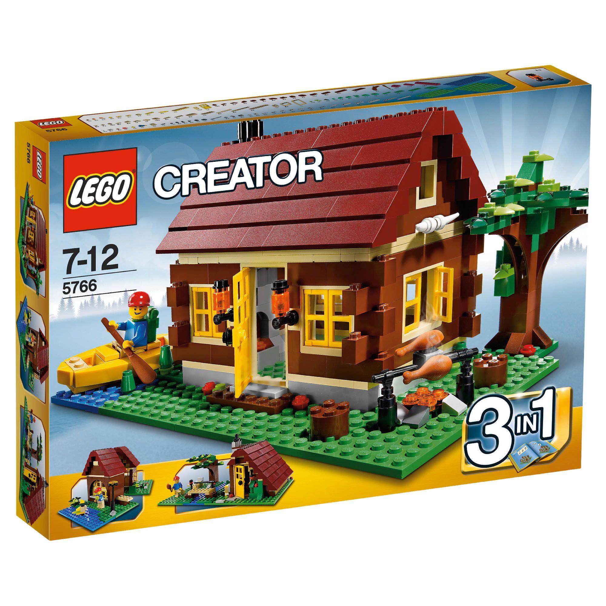 Do choi xep hinh LEGO 5766 - Ngoi nha go