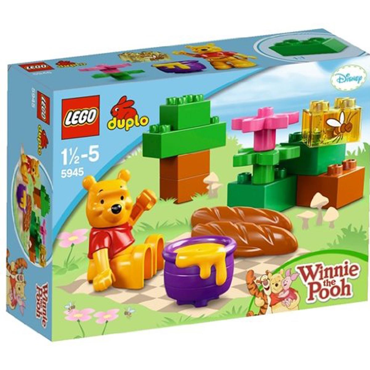 Do choi xep hinh Lego Duplo 5945 - Chuyen da ngoai cua gau Pooh