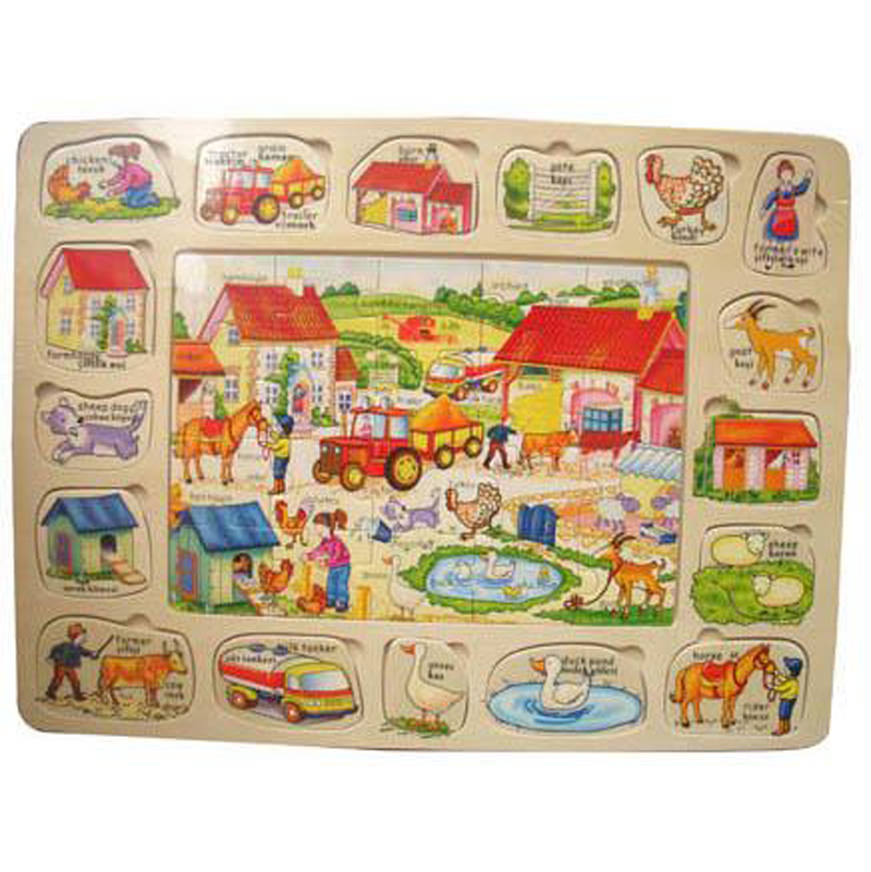Do choi go toptoys - Bang ghep nong trai (lon) 98261