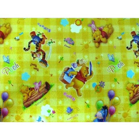 Tham choi cho be mau gau Pooh mau vang 1.2m*2m*10mm