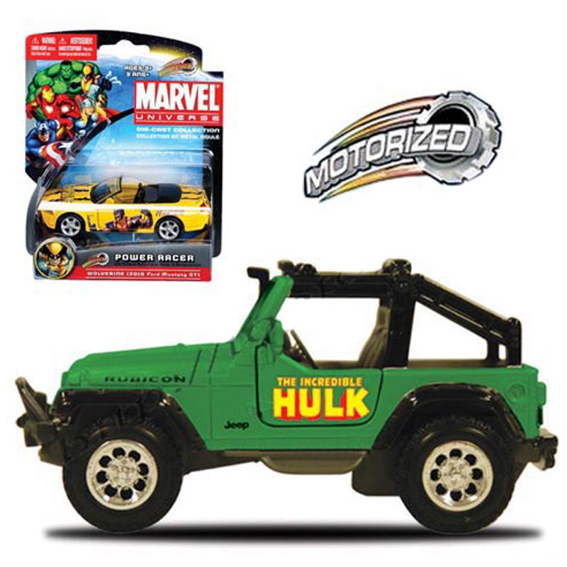 Xe Anh hung Marvel - Hulk - Jeep Wrangler Rubicon 15148