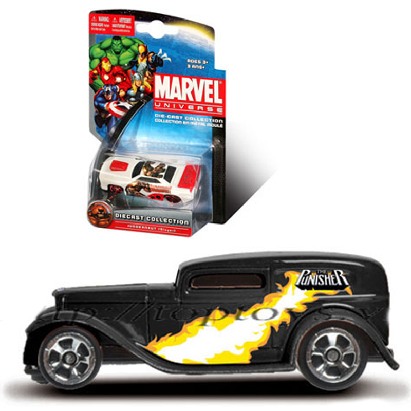 Xe sieu anh hung Marvel - Punisher 1932 Ford Sedan Dilivery