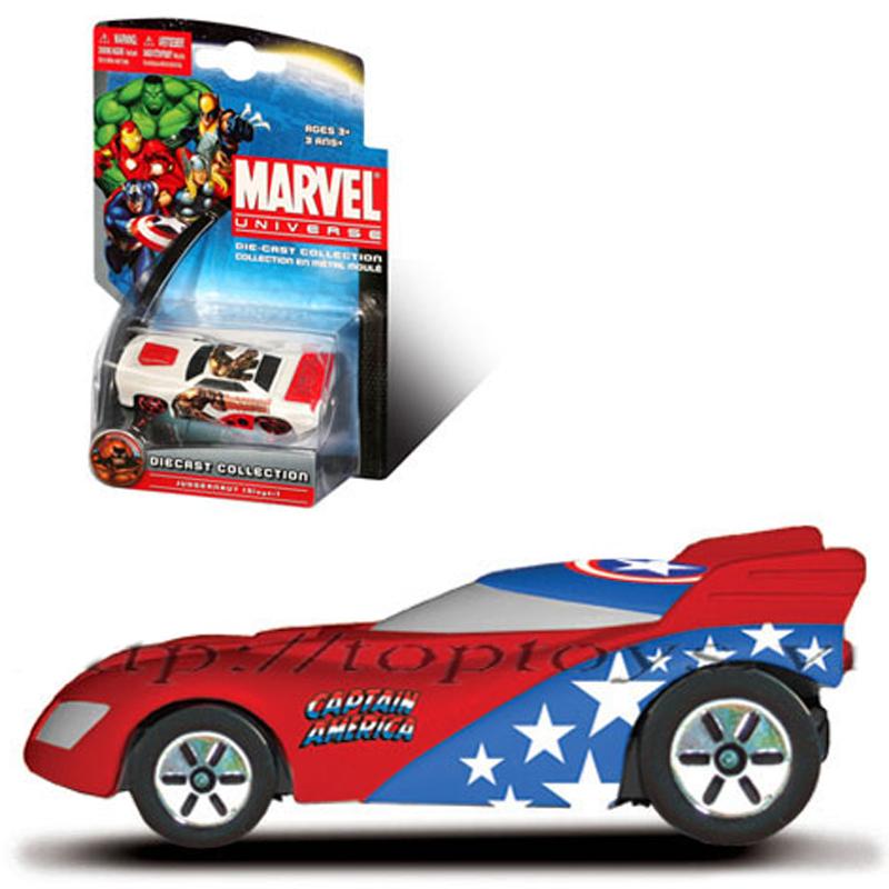Xe sieu anh hung Marvel - Captain America