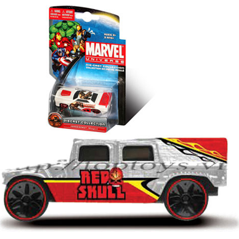 Xe sieu anh hung Marvel - Red skull HUMVEE