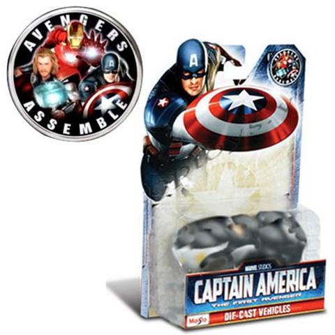 Do choi o to - Xe Anh hung Captain America 15175
