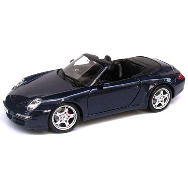 Mo hinh Maisto 31126 - Porsche 911 Carrera S Cabriolet