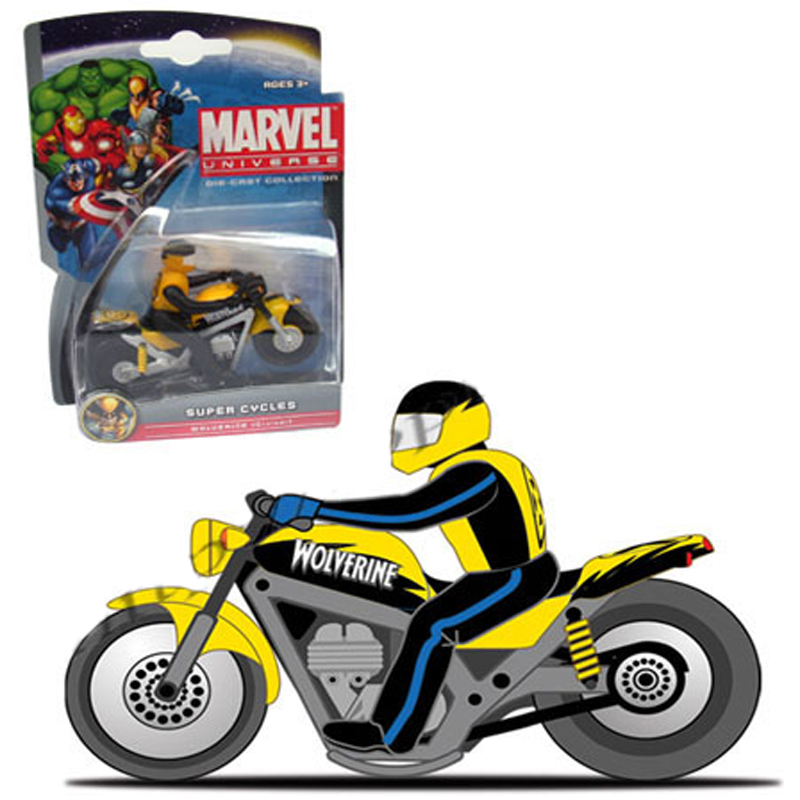 Xe moto Anh hung Marvel -Wolverine-Cruiser 25017