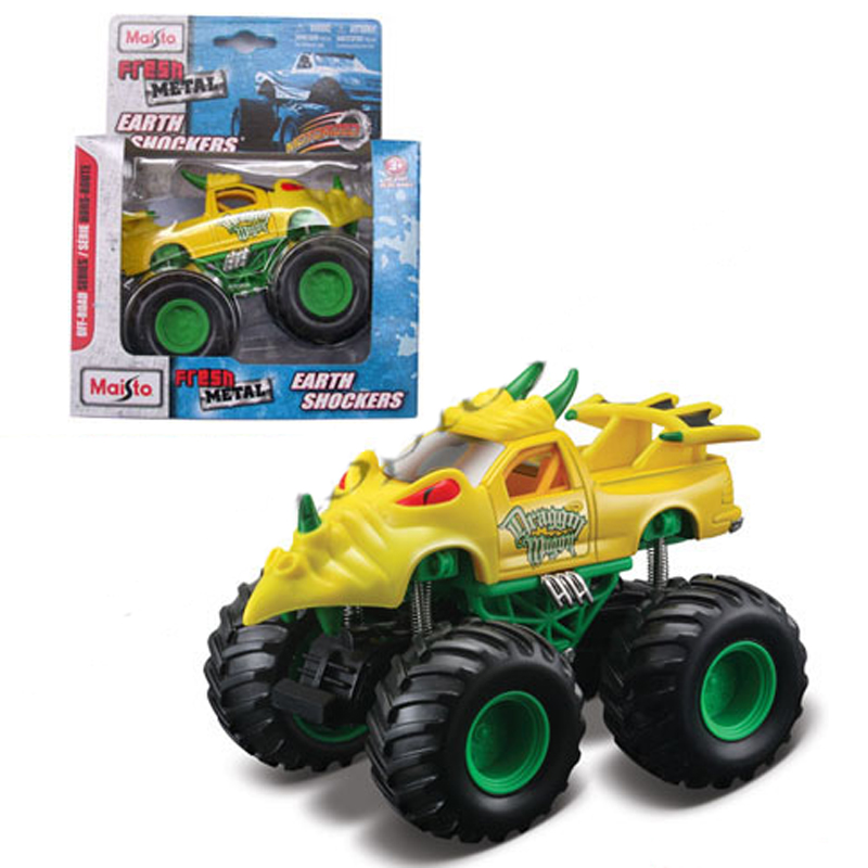Xe Oto dia hinh EARTH SHOCKERS - Draggin'Wagon 21144