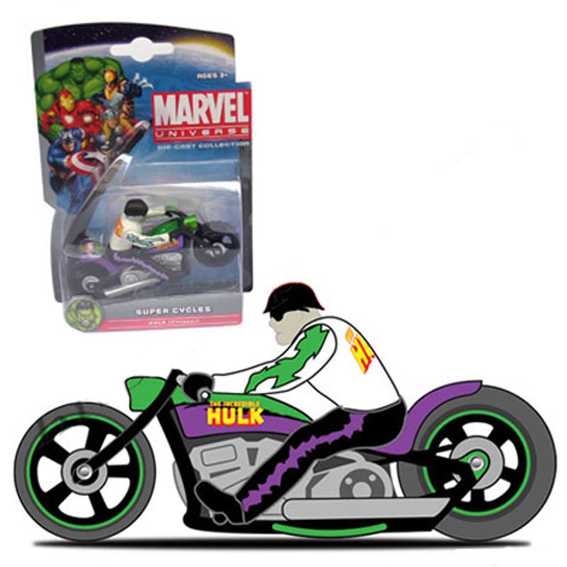 Xe Moto Anh hung Marvel - Hulk Chopper 25017