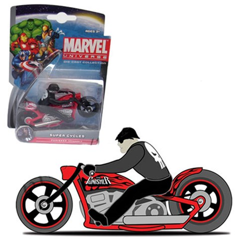 Xe moto Anh hung Marvel - Punisher Chopper 25017