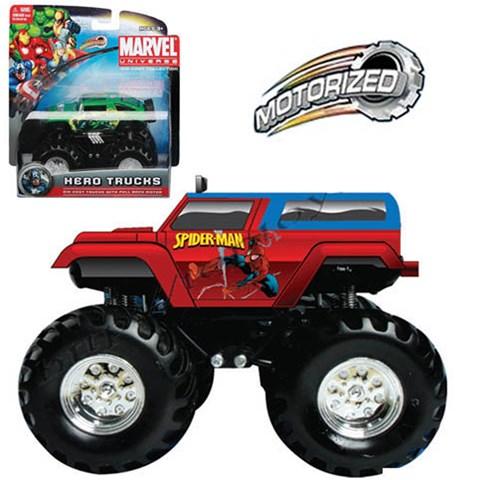Xe Anh hung Marvel - Spider man - Rock Crawler 25022