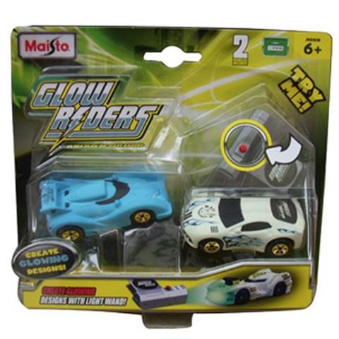 Bo xe doi mau Glow Riders - Set 4 85018