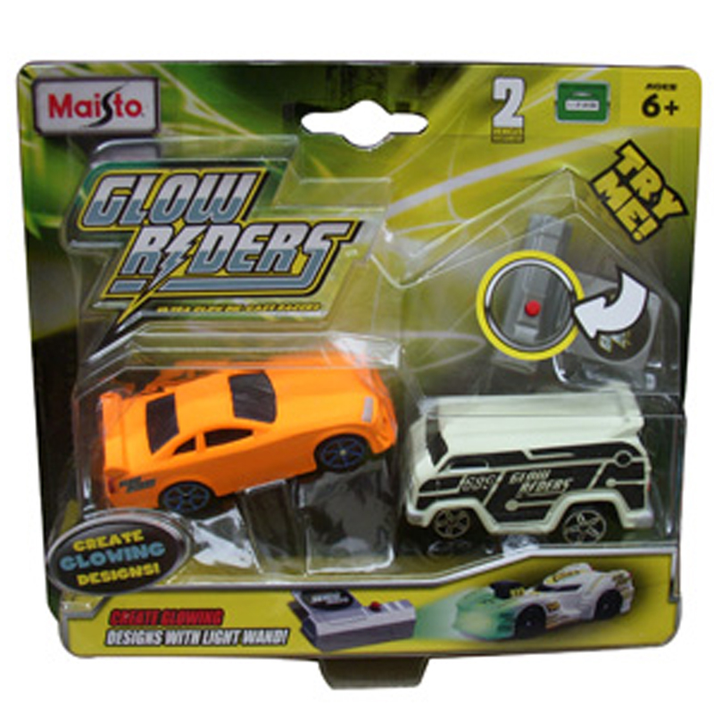 Bo xe doi mau Glow Riders - Set 1 85018
