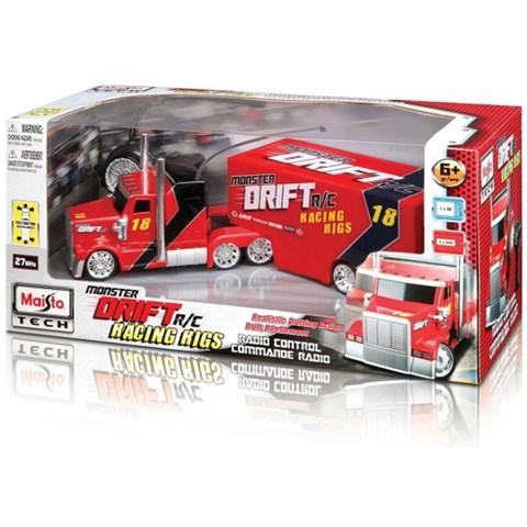 Xe dieu khien tu xa Semi Drift - Truck 81170 Maisto