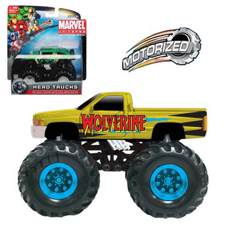 Xe banh da Anh hung Marvel - Wolverine - Dodge Ram Pickup 25022
