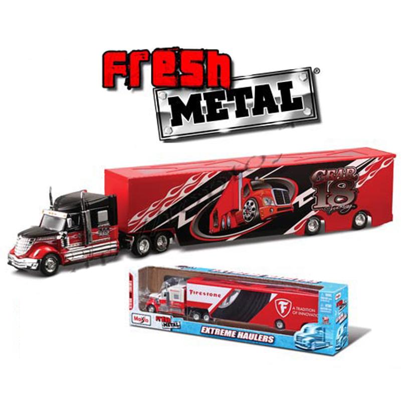 Mo hinh xe container 12065 Maisto