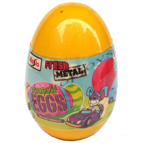 Do choi Maisto - Xe mo hinh Plastic Easter Egg Maisto 14049