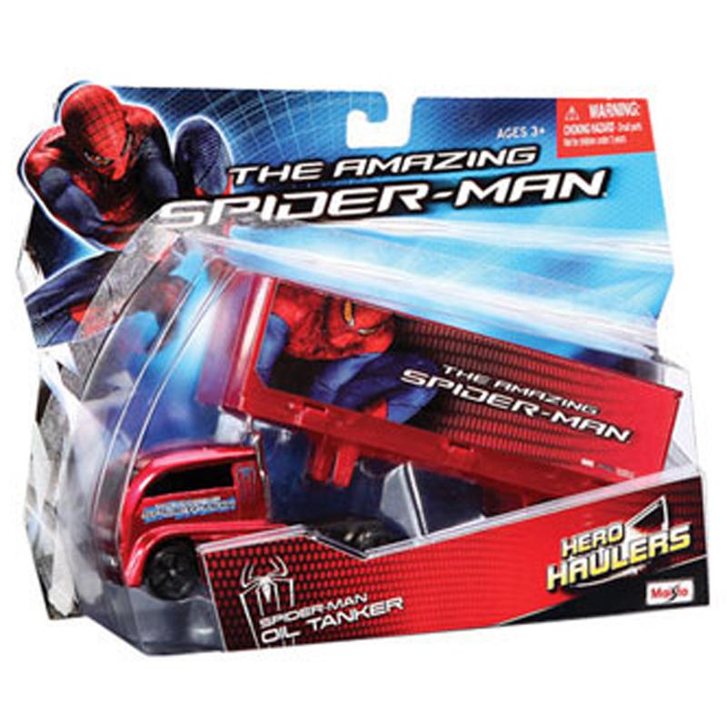 Do choi Maisto - Xe mo hinh xe tai Spider Man 12131