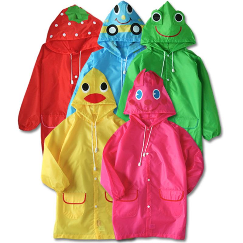 Ao mua tre em Linda xuat Nhat ( funny rain coat)