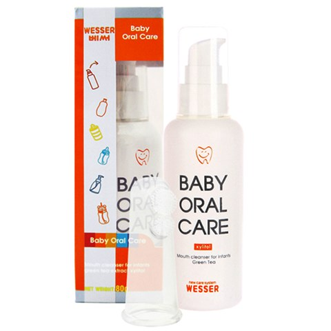 Nuoc ve sinh luoi, rang mieng cho be (baby Oral Care)