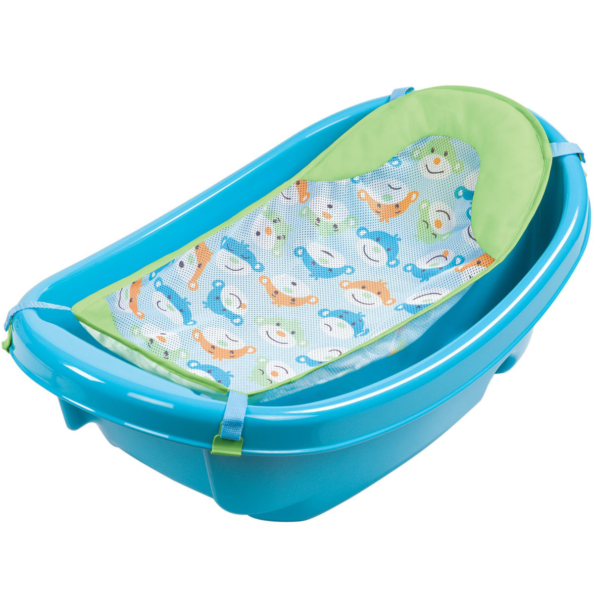 Chau tam co luoi xanh Summer 18160 - Three Stage Baby Tub