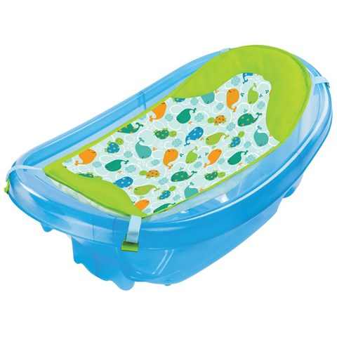 Chau tam co luoi xanh Summer 09150 - Sparkle N Splash Tub Blue