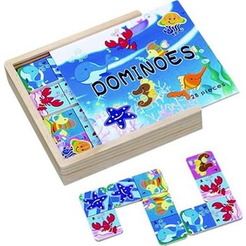 Do choi go Toptoys - Domino Sinh vat bien 93414