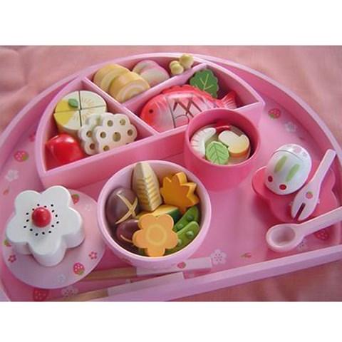 Do choi bo khay com sushi Mother Garden 089