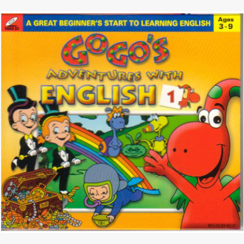 Gogo's Adventure with English - Cuoc phuu luu cua Gogo's - 6VCD