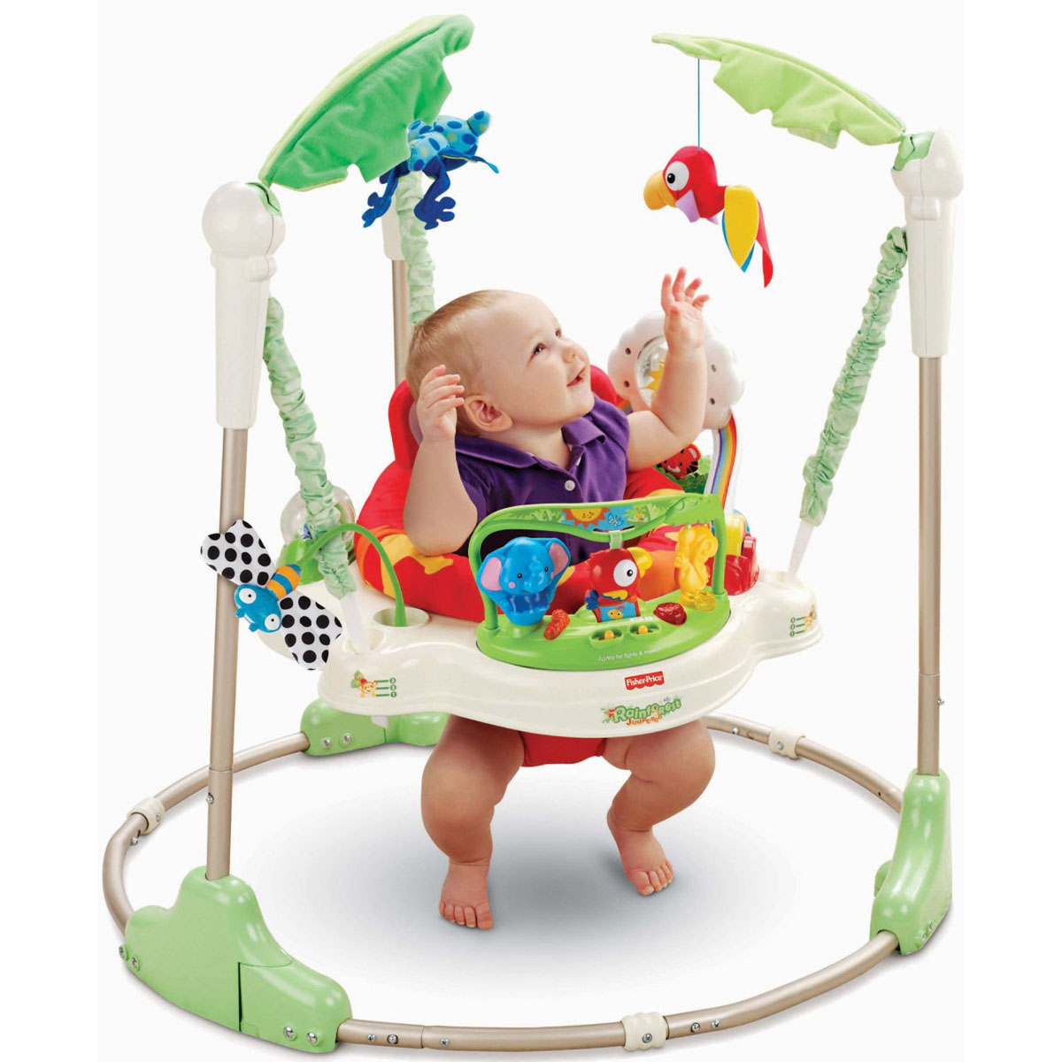 Ghe tap dung Fisher Price Rainforest Jumperoo P0105