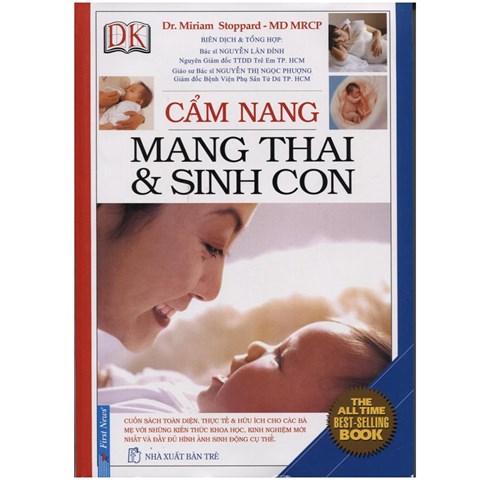 Cam nang mang thai va sinh con (Bia cung)