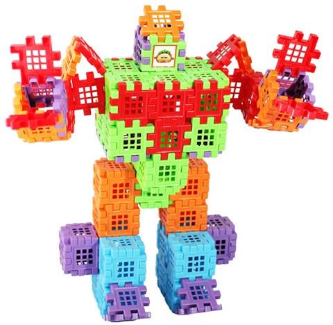Hinh vuong dieu ky biet doi Robot