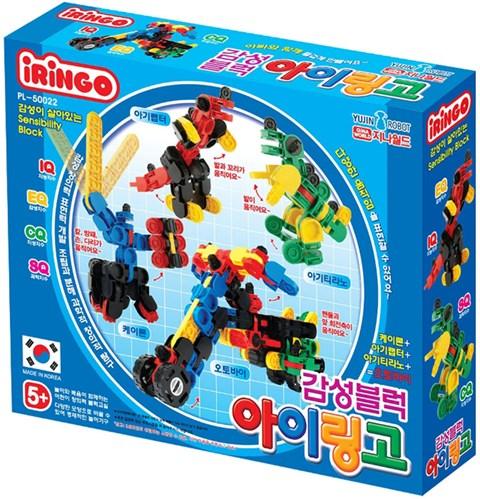 Bo xep hinh Iringo Robot da nang Transformer PL-50022